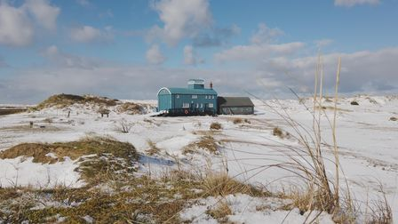 Blakeney Point, featured in Chris Taylor's video,A year on the wild North Norfolk coast - Winter.