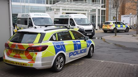 Police were scrambled after a baby was taken from the N&N Hospital.