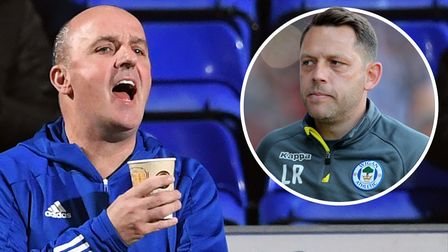 Paul Cook and Leam Richardson will meet on the DW Stadium touchline this weekend