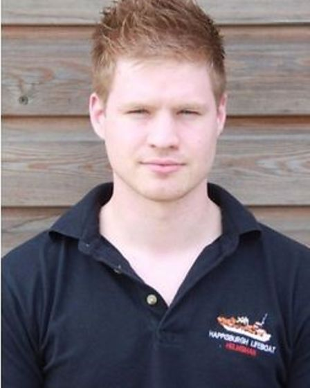 Jake Munday, who is standing down from his volunteer role at Happsiburgh RNLI.