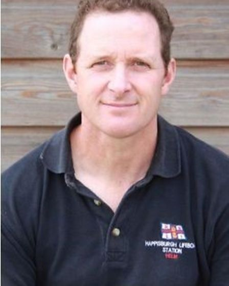 Tim Grimmer, who is standing down from his volunteer role at Happsiburgh RNLI.