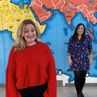 Norfolk teachers Louise Wright and Rebecca Guy-Ragan who are a stepcloser to becoming headteachers.
