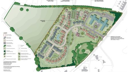 The plans for the Melton Care Village in Yarmouth Road, Melton