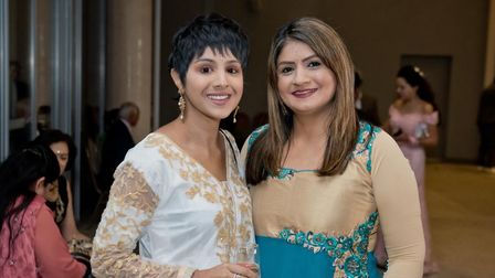 Neepy with her mum Ramesh before her death in July 2020