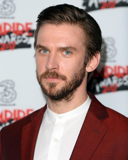 Dan Stevens in the winners room at the Three Empire Awards held at The Roundhouse in Chalk Farm, Lon