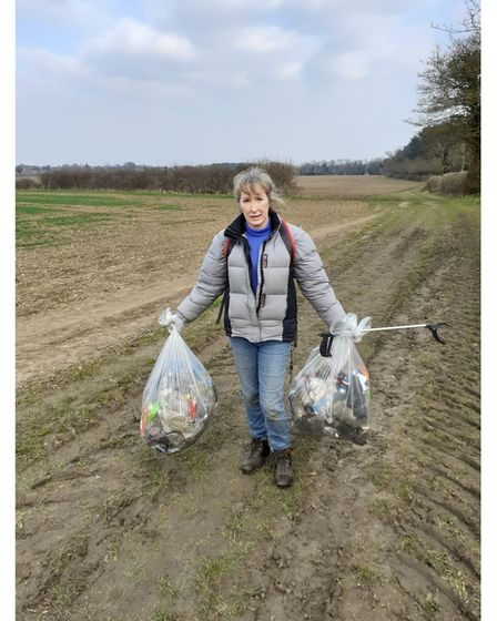 Wendy Turner said litter seems to be a growing problem. She has been collecting rubbish in her local area of Thurston