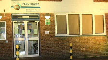 Whittlesey radio station lit up for national pause