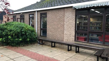 It is hoped that the outdoor space will attract more visitors to come back to the library.