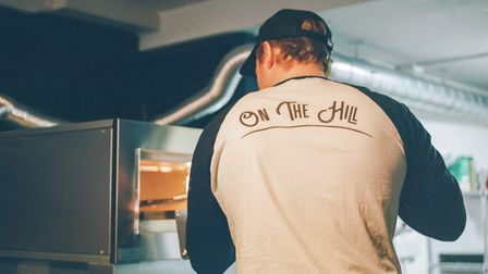 Adam Lees is the owner of 'On The Hill', a new pizza and craft beer restaurant in Diss.