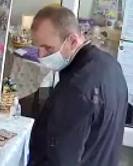 CCTV image of one of four wanted in connection with an aggravated burglary.