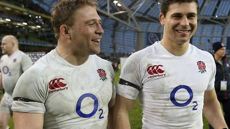 England's Tom and Ben Youngs. Picture: PA