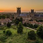 James Billings captured thisstunningphoto of Ely Cathedral at sunset usinga drone camera.