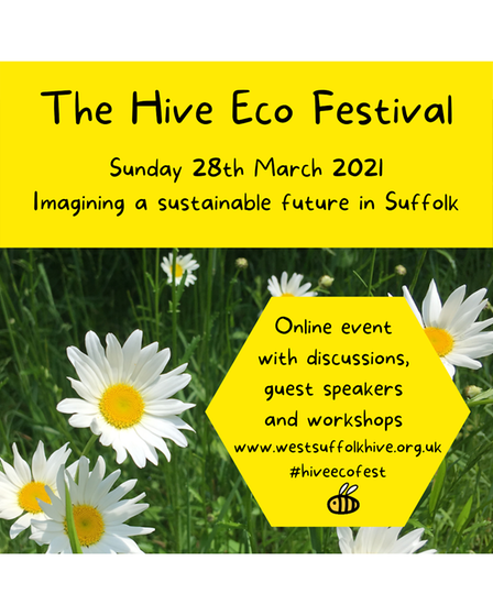 The free online Hive eco festival is happening on Sunday, March 28