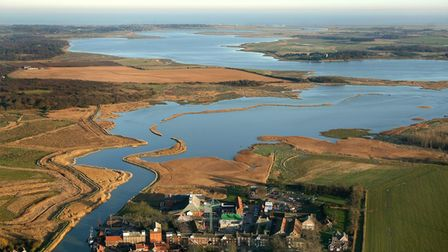 EADT; Mike Page Aerial Photo Library; Snape and the Alde; PICTURE COPYRIGHT MIKE PAGE - PICTURES AVA