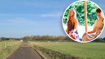 The two businesses will create a 'wellness centre' on land atGrassroots and Wellyboots Farm in Park Road, East End