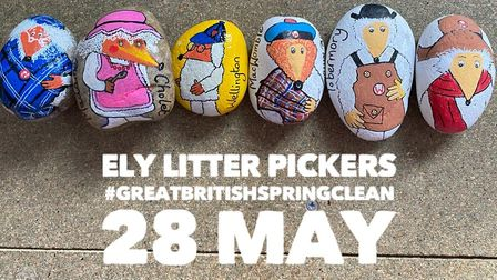 The Ely Litter Pickers group is holding a Great British Spring Clean on May 28.
