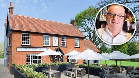 The Unruly Pig has a sunny decked terrace and large lawn