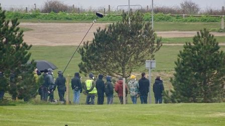 'Spencer', a new film about Princess Diana, being filmed in Hunstanton