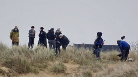 Filming for 'Spencer', about the life of Princess Diana, takes place on Hunstanton beach