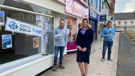 Fred. Olsen Travel will open their new Beccles branch in April.