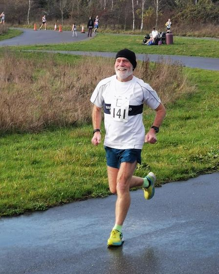 Third place went to Ron Vialls in the latest Barking Road Runners virtual event