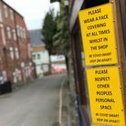 Wells was quiet on the first March weekend during the third national coronavirus lockdown.