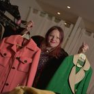 Hannah Springham, owner of Vegas Vintage at Dial House, with some of the amazing vintage items that