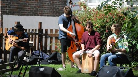 Activities like this at St Margaret's House could help Covid recovery