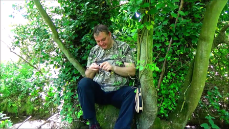 Sylvester says he'd be able to survive anywhere thanks to skills he's learnt through bushcraft
