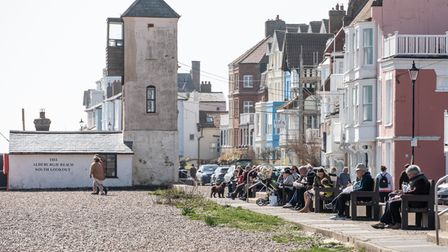On the. first day of lockdown restrictions easing, people headed to Aldeburgh to enjoy a day out or