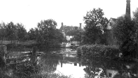 Toppesfield Mill in Hadleigh from David Kindred's archive
