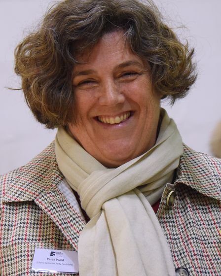 Karen Ward is standing down as a north Norfolk district councillor.