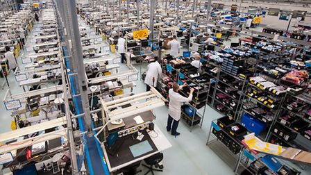 Production lines at anovo in Norwich. Photo: Bill Smith