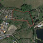 Aerial view of Melton land for 55 homes