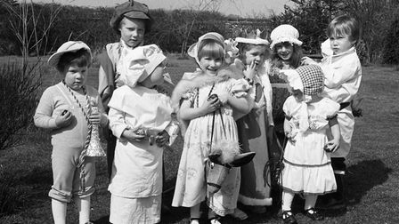 From the archives: AnEaster Egg hunt in Battisford in 1983