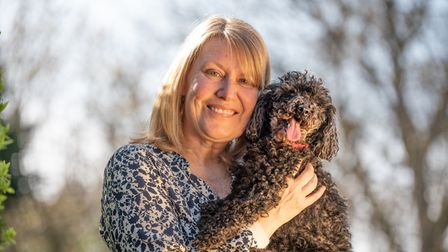 Romea Cafasso has been reunited with her dog Jet. Jet was found in Basildon after going missing mon