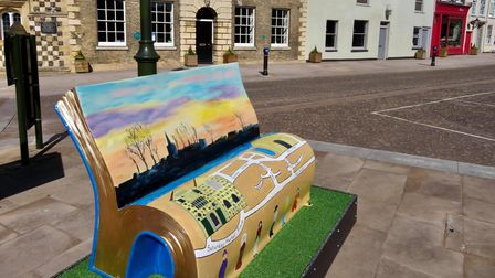 The initiative has seen unique benches placed in prominent areas in King's Lynn, Downham Market and Hunstanton.