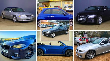 Here are our top picks of used cars for sale across the county under £12,000, just in time for the summer season.