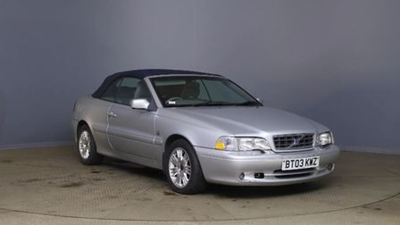 This Volvo C70 is available atHankins Car Sales at Ramsey.