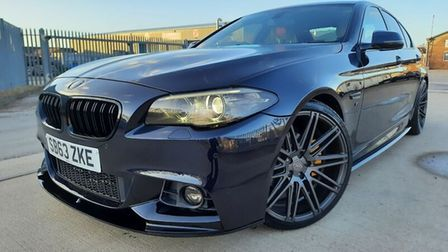 This BMW 5 Series is available atM&L Car Sales in Whittlesey.
