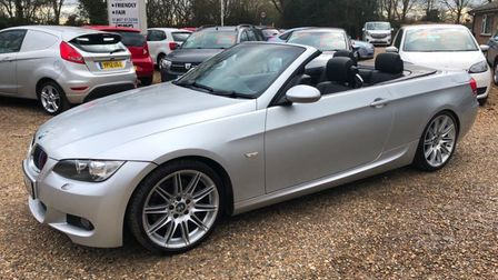 This BMW 330d is available atCrosslands Vehicles at Ramsey Forty Foot.