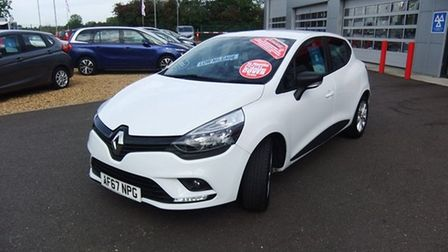 This Renault Clio is available fromParagon Motor Company in Wisbech.