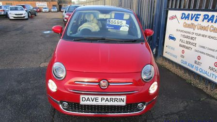 This Fiat 500 is available fromDave Parrin Car Sales in Wisbech
