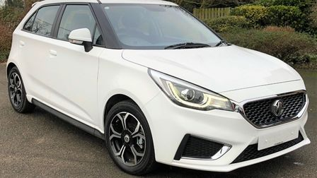 This MG3 is available atWH Brand inWhaplode Drove near Spalding.