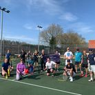 North Elmham Tennis Club welcomed back players.