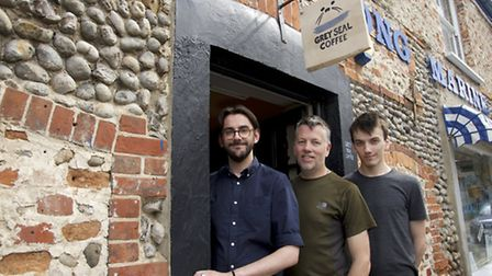 Grey Seal coffee roasters have opened a new coffee shop in Blakeney on Saturday. The coffee is roast