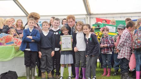 Prince Harry visits the Suffolk Show