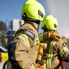 Firefighters dealing with Bromley-by-Bow railway arch blaze