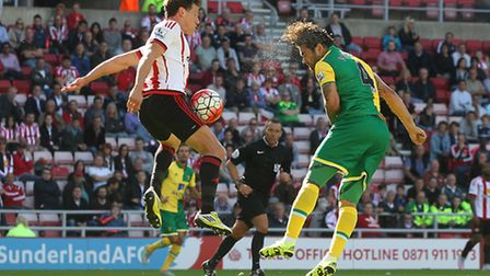 Bradley Johnson was brought on in the 62nd minute to try and add defensive steel to Citys defence of