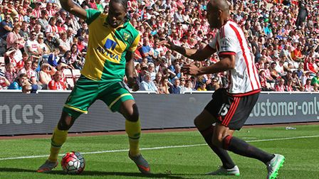 Cameron Jerome returned to Citys starting line-up and refused to let the Sunderland defence, includi